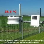 Eerste lokale zomerse dag van 2020 een feit in Alblasserdam
