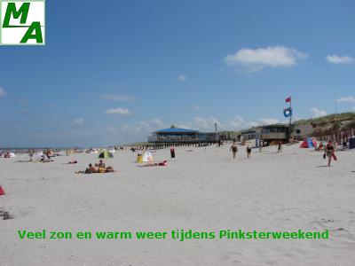 Veel zon en warm weer tijdens Pinksterweekend