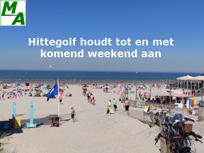 Hittegolf houdt tot en met komend weekend aan