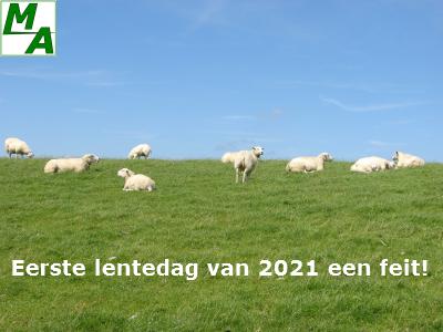 Eerste lentedag van 2021 een feit!