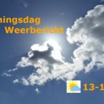 Koningsdag weerbericht: zon en hogere temperaturen